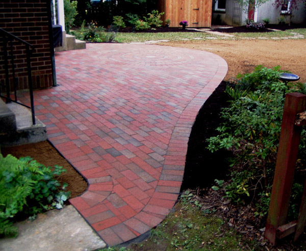 Think Outside The Square Curved And Round Patios And Walkways