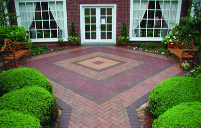 Practical And Pleasing: Using Patterns In Your Patio And Walkway Design.    Pine Hall Brick, Inc.