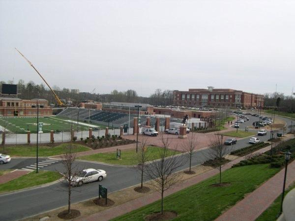 UNC-Charlotte new McColl-Richardson Field