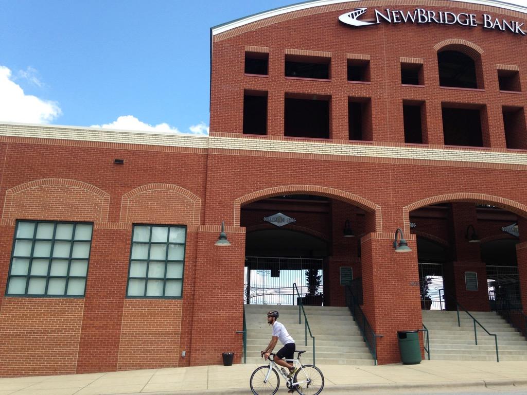 Greensboro Grasshoppers stadium entrance
