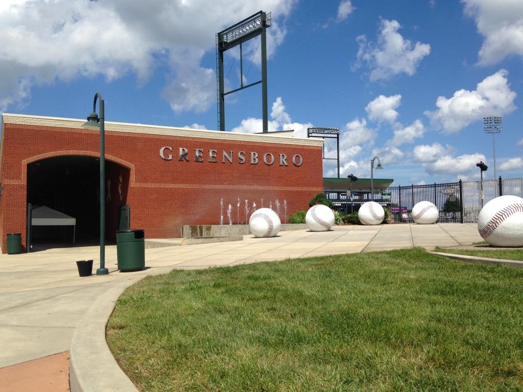 Greensboro Grasshoppers stadium