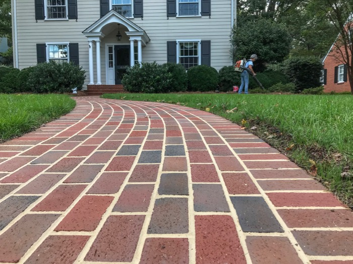 A New Serpentine Paver Walkway Fits