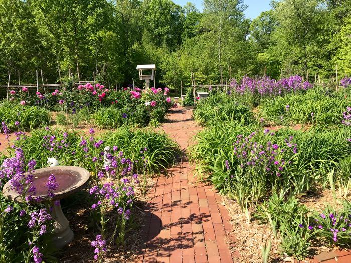 Endless garden path