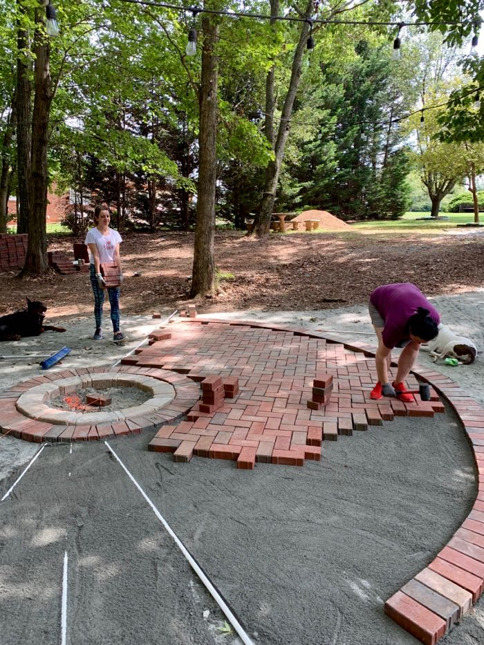 Family paver project